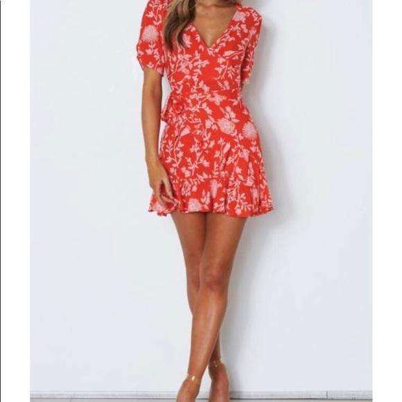 f314f2d41d07 ... Serena Mini Wrap Dress Red Print. NWT. M_5ab0321b85e6057733aa55cb.  M_5ab0321c3afbbd5ba3516906. M_5ab0321f05f430c53ba17c48.  M_5ab03221caab4431f0168acd